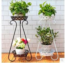 Europe type multilayer shelf, wrought iron floor balcony showy sitting room more than other meat flowerpot wearing flower on t стоимость