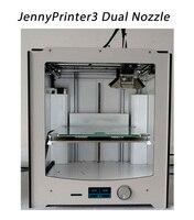 Новые jennyprinter3 Двойной Экструдер Насадка автоматическое выравнивание 3D принтеры DIY Kit Совместимость с Ultimaker 2 um2 включены все Запчасти
