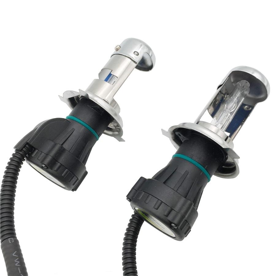 H4 Lamp 12V 35W Xenon HID Headlight Car Light Bi Xenon HID AC Bi-xenon Car Headlight Bulb H4-3 Lamp 4300K 5000K 6000K White
