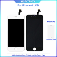 50Pcs Free DHL 100% Tested No Dead Pixel LCD Display For Apple iPhone 6 Screen Replacement AAA 3D Touch 4.7 Digitizer Assembly