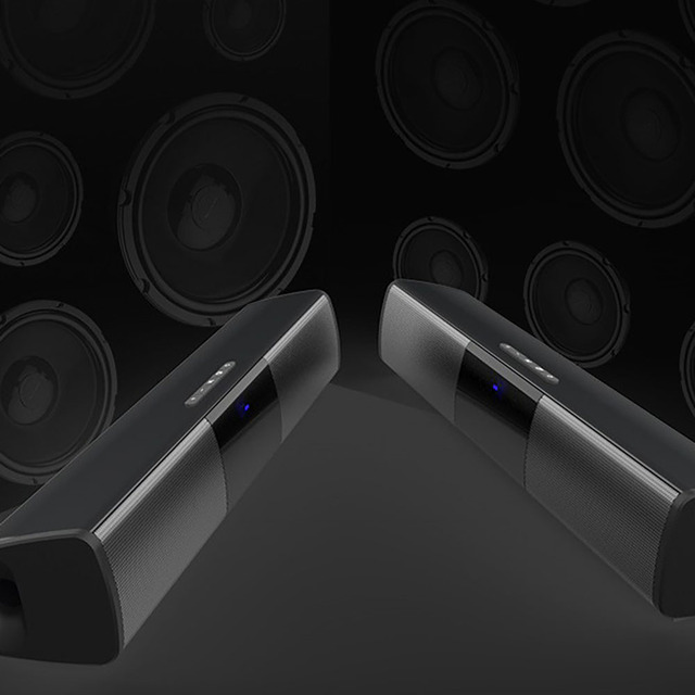 Bluetooth Wireless Speaker stereo Music surround  Outdoor Speaker Home Theater Subwoofer RCA Sound Bar  Wireless TF Card Support 1