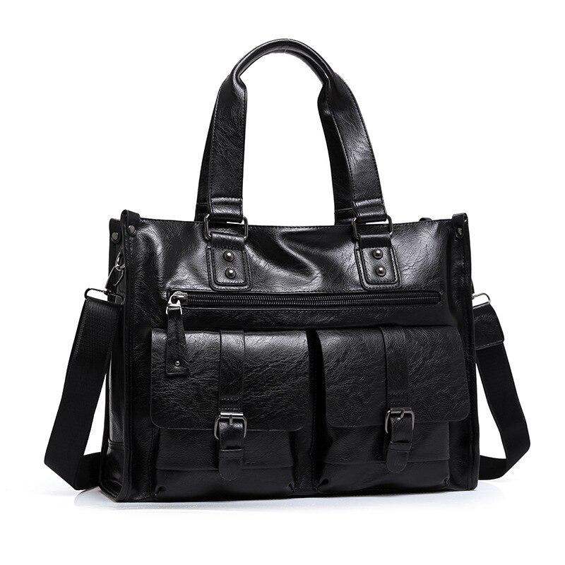 2017 New Arrival Split Leather Travel Bags for Men Large Capacity Portable Male Shoulder Bags Luxury Men's Travel Handbags