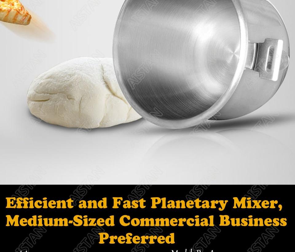 B20A/B30A commercial electric 20L/30L food mixer planetary mixer dough mixer machine for dough kneading/ egg beating/food mixing 11