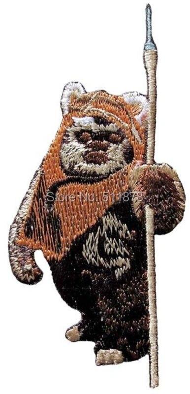 Star Wars Wicket Ewok Embroidered Patch Luke Darth Vader Empire Star Wars 7 VII The Force