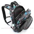 Homens Mochila para adolescentes poliéster geométrica marca schoolbag bookbags laptop mochila masculina moda bagpack