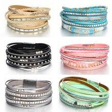 Stones & Leather Bracelets For Woman