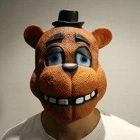 Olhos Pesados Com Urso Sono Máscara de Halloween Animal Bonito Headwear Decorações da Festa de Halloween Máscaras Do Partido Do Baile à Fantasia do Dia Das Bruxas