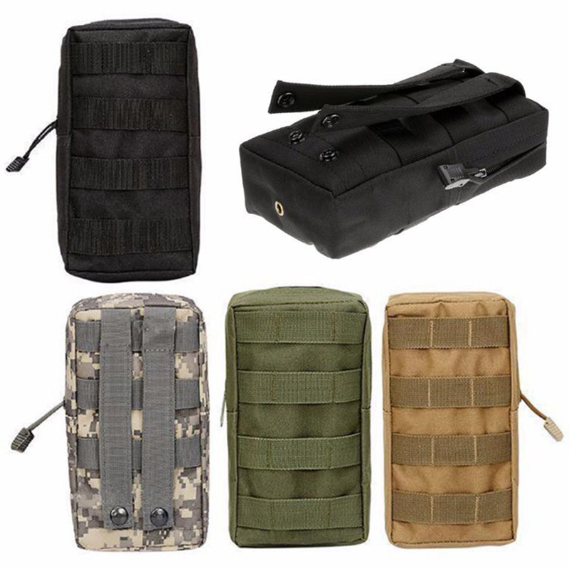 Pouch Pocket-Organizer Tactical-Belt Camping-Bags Molle Military-Utility Outdoor Survival
