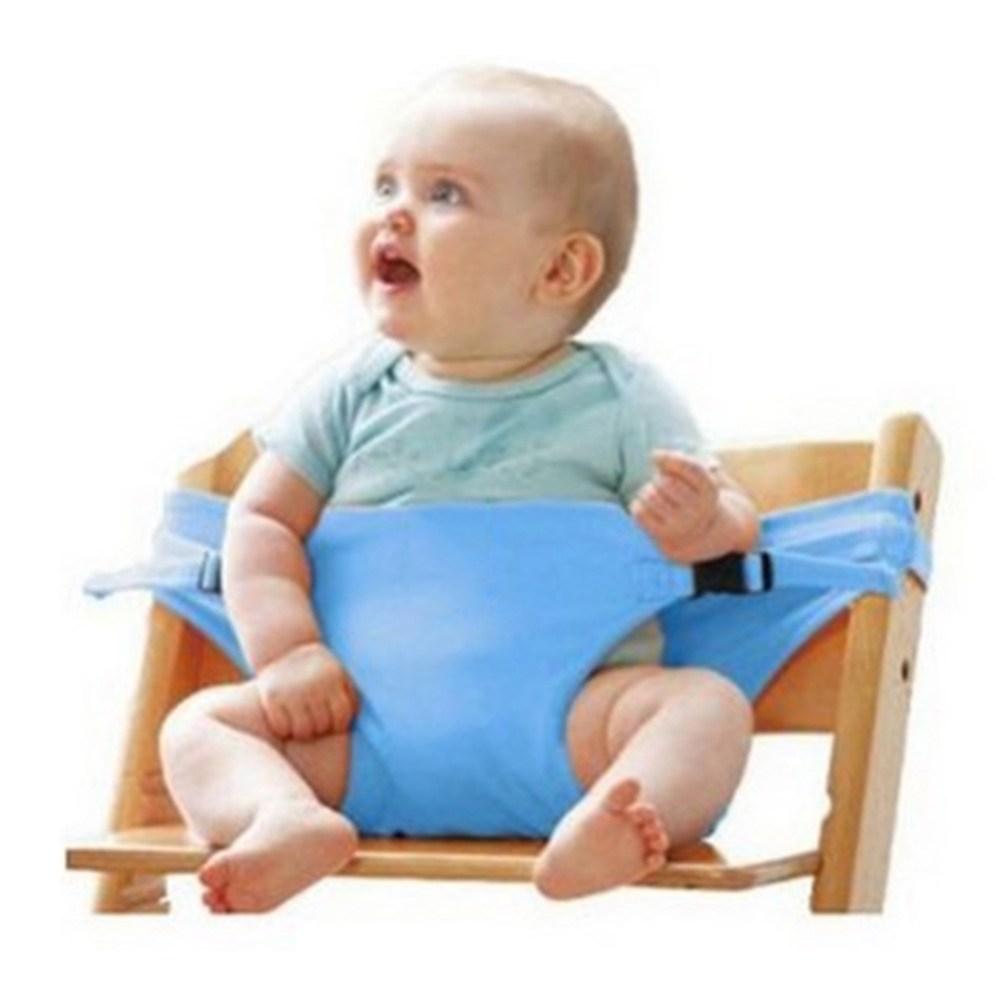 Washable Portable Travel High Chair Booster Baby Seat with straps ...