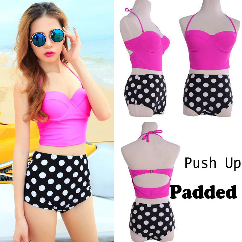 3a45fc03fda Retro Polka Dot Swimsuit