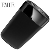 20000mah Power Bank External Battery Quick Charge Dual USB LCD Powerbank Portable Mobile Phone Charger Send