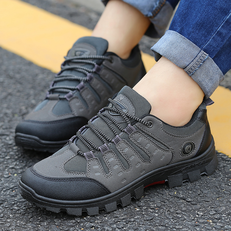 JXGXSX Fashion Autumn Waterproof Male Casual Outdoor Non-slip Sneakers Men Wear-resistant Travel Breathable Trekking Work ShoesJXGXSX Fashion Autumn Waterproof Male Casual Outdoor Non-slip Sneakers Men Wear-resistant Travel Breathable Trekking Work Shoes