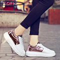 EOFK Brand 2017 Spring Women Casual Shoes Woman Patchwork Fashion Platform Shoes Women's Vulcanize Shoes Chaussure Femme