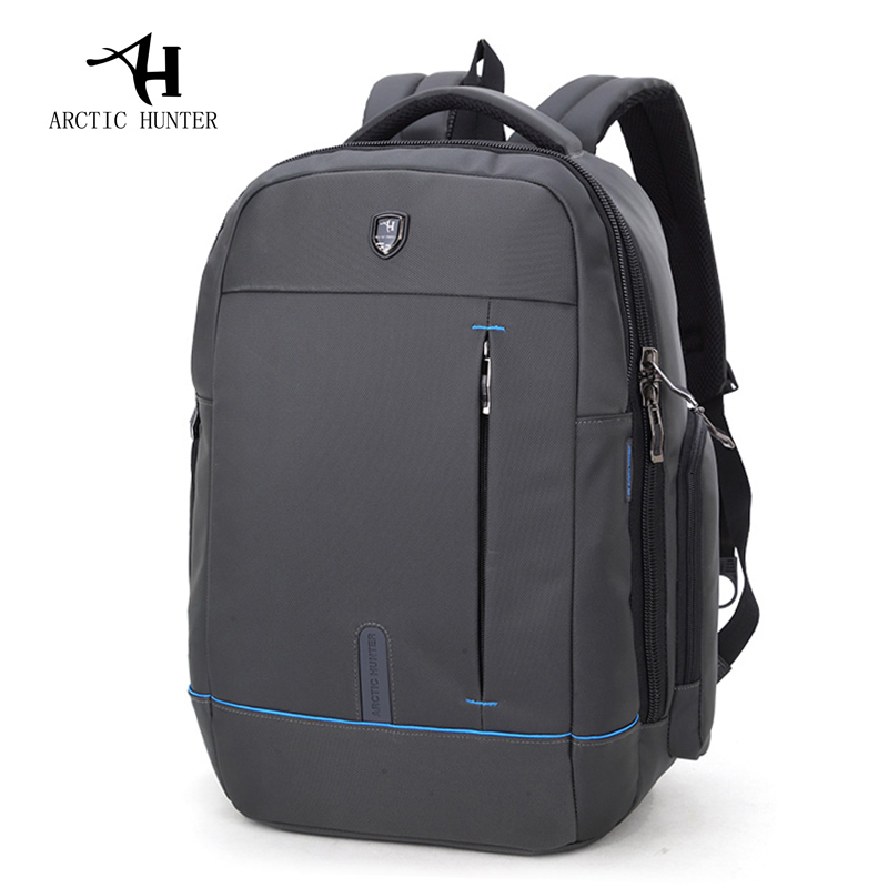 ARCTIC HUNTER Waterproof School Backpack Bag For College Simple Design Men Casual Male New Backpack Casual Men Travel Laptop Bag
