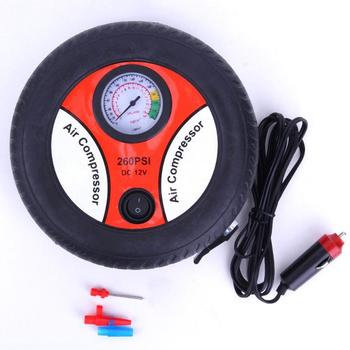 12V Air Pump Inflatable Pump Electric Tyre Pressure Monitor Compres Car Insurance Gift Tire 19 Cylinder Mini Air Pump Power New