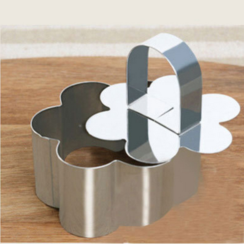 Stainless steel petal flower cake cutter mold,cheap promotional cake ...