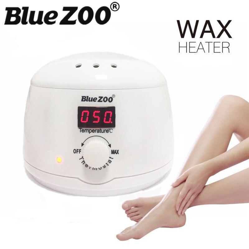 BlueZOO 2017 Pro Wax Heater Hard Wax Warmer Electric Pot 500CC Visible Temperature Depilatory Wax Machine Hair Removal for Women комплектующие для стиральных машин 02 100