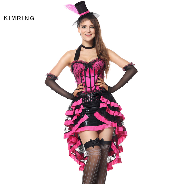 81152dbc92 Kimring Sexy Mad Hatter Halloween Costume in Wonderland Costume Women Adult  Magician Costumes Cosplay Fancy Dress
