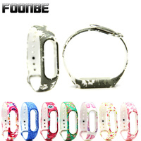 Foonbe Silicone Belt Strap for Xiaomi 2 for Mi Band 2 Strap Smart Wristband for Miband 2 Bracelet Strap Replacement