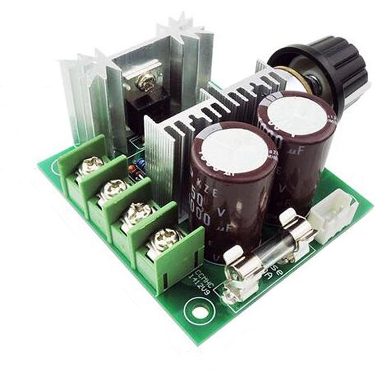 DC12V LED-ljus Dimmer Spänningsregulator Dimmer Termostatmotor PWM Hastighetsregulator för LED Strip Light