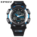 EPOZZ g style synchronous movement digital watches men brand luxury 100m water resistant high orologio uomo Christmas gift