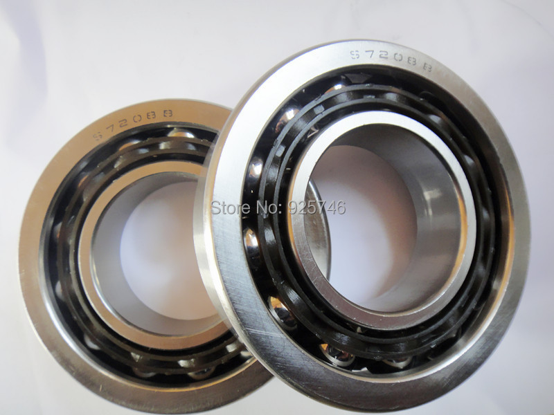 Stainless Steel  Angular Contact Ball Bearing 7208 S7208 40x80x18 stainless steel angular contact ball bearing 7208 s7208 40x80x18