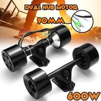 600 Вт двойной привод скутер концентратор мотор комплект высокой мощности DC бесщеточный мотор колеса пульт дистанционного управления для эл