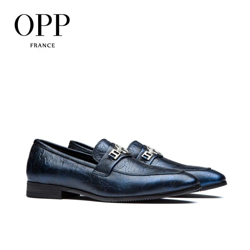 Hombre Chaussures Mode NaturelRespirant Bleu En wine Style De Robe Opp Boucle vin Blue Hommes Richelieus Vache Avec Cuir Zapatillas qUMpzVGS