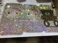 For Samsung Galaxy S3 S4 S5 S6 S7 Edge S8 S9 Plus Note 2 3 4 5 8 9 G530 Full Rhinestone Case Hello kitty Diamond Cover