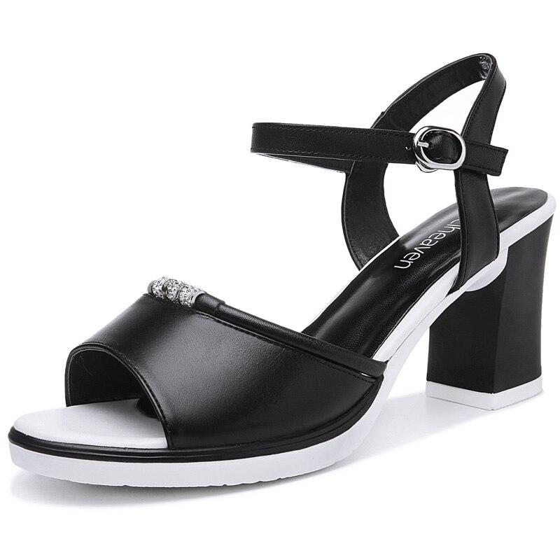 ФОТО mrhippies Sapatos femininos salto alto New arrival Spring Women shoes high heels Pumps Open toe Platforms Cute Sweet black White