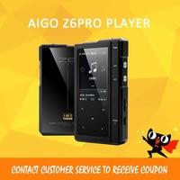 ASD лунный свет AIGO Z6Pro Hifi плеера жесткий DSD MP3 плеер ES9018Q2C ЦАП двухъядерный Процессор + кожаный чехол NXPLPC4357 Max32GB