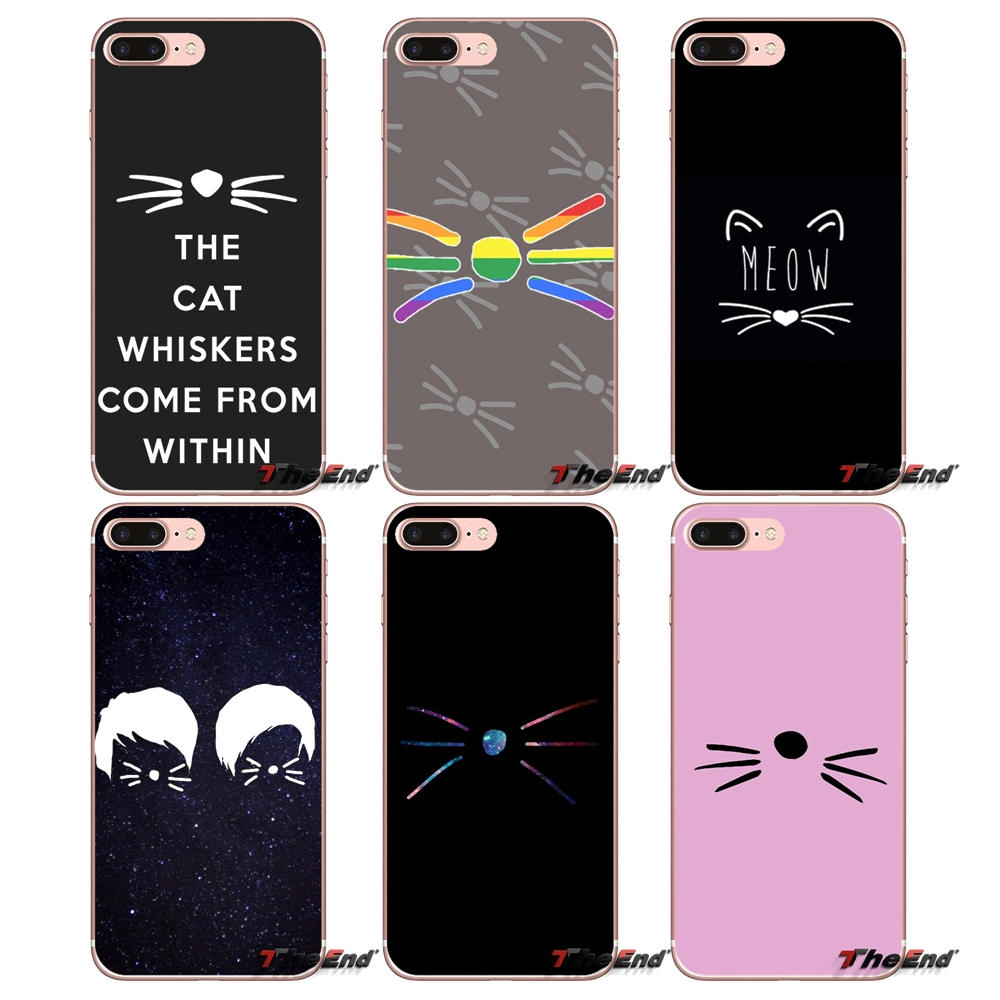 DAN AND PHIL CAT WHISKERS Silicone Case For Samsung Galaxy S3 S4 S5 MINI S6 S7