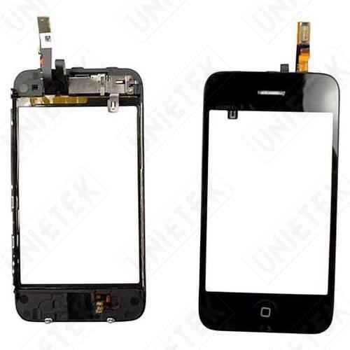 Дигитайзер сенсорный экран панели с Midframe ассамблея для iPhone 3GS