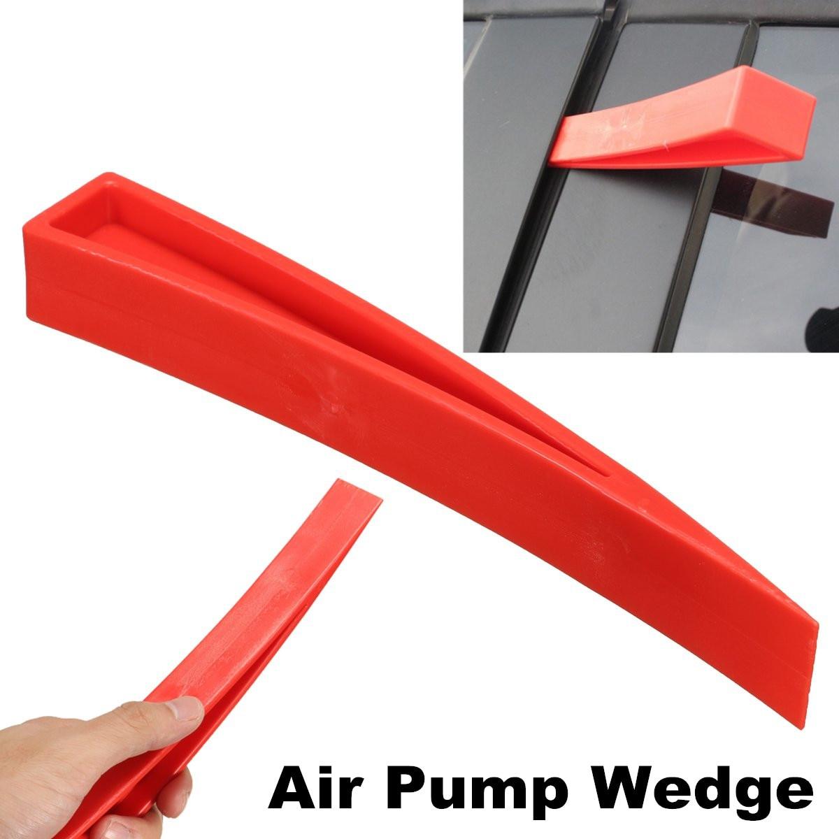 New Automotiv Air Pump Wedge Auto Repair Car Window Audio Doors Open Tools Red