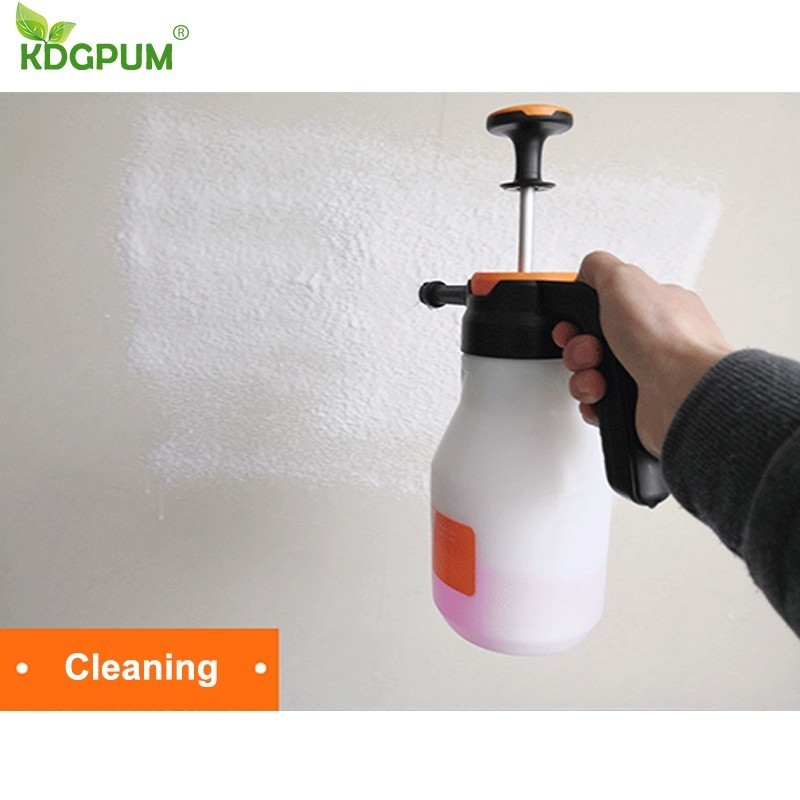 Image 4 - 2L Foam Sprayer Pressure Pump Car Wash Watering Can Foam Nozzle For Home Window Cleaning ToolsSprayers