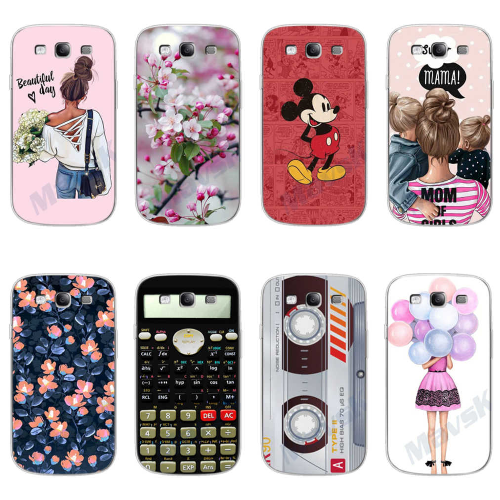For Samsung S3 Case Silicone Cover TPU Phone Case For Samsung Galaxy S3 Neo i9301 GT-I9301 S3 i9300 Duos Couqe Fundas Bumper