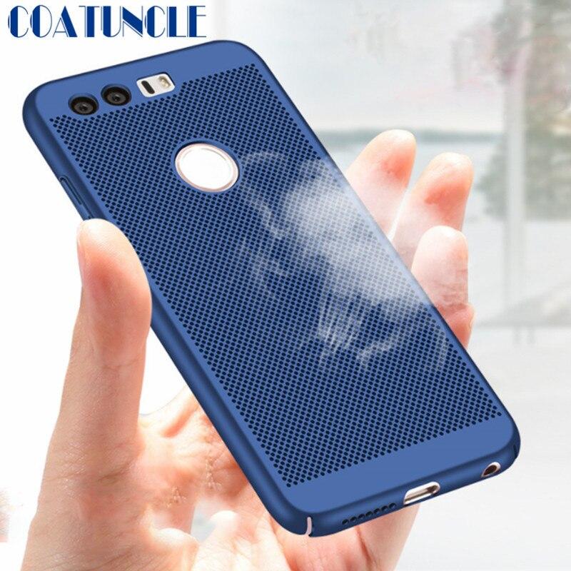 Для Huawei P10 чехол ультра тонкий жесткий Пластик Hollow охлаждающий защитный Телефонные чехлы крышка В виде ракушки кожи Кепки для Huawei P10 плюс чех...