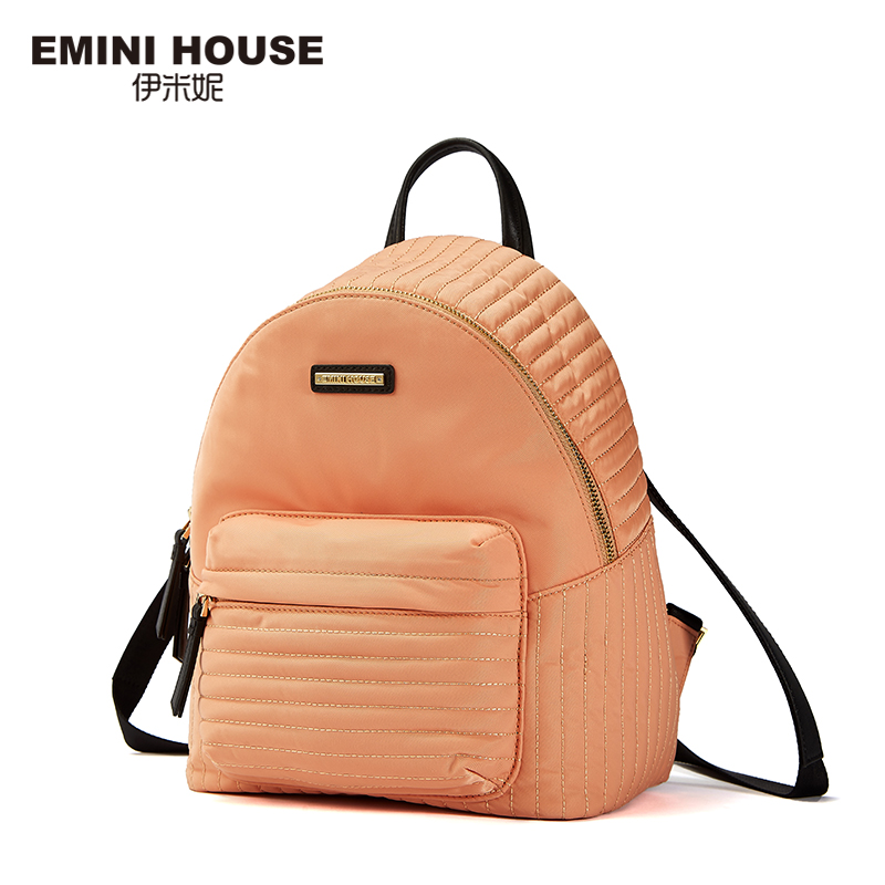 EMINI HOUSE Nylon School Bag Backpack Female Multi-function Roomy Travel Backpack For Girls Zipper Handy Spring And Summer Bags 2209 wholesale 2017 new spring and summer man casual backpack wave packet multi function oxford backpack