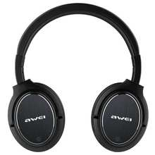 Awei A950BL Bluetooth Headphone ANC Noise Reduction Wireless Bluetooth Headset Wireless Headphone Noise Cancelling For Phone leory 3 5mm active noise canceling bluetooth anc aviation headphone wireless hifi stereo sports gaming headphone