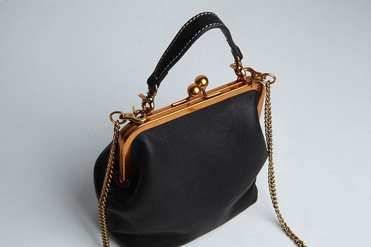 2019 new vintage bag women's handbags leather PU chain shoulder crossbody bags (14)