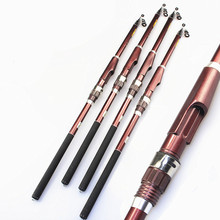 Promo offer 2017 New Telescopic Fishing Rod Carbon Fishing Pole Super Hard Distance Throwing Rod Hiqh-quality Fishing Rod Fast Transport
