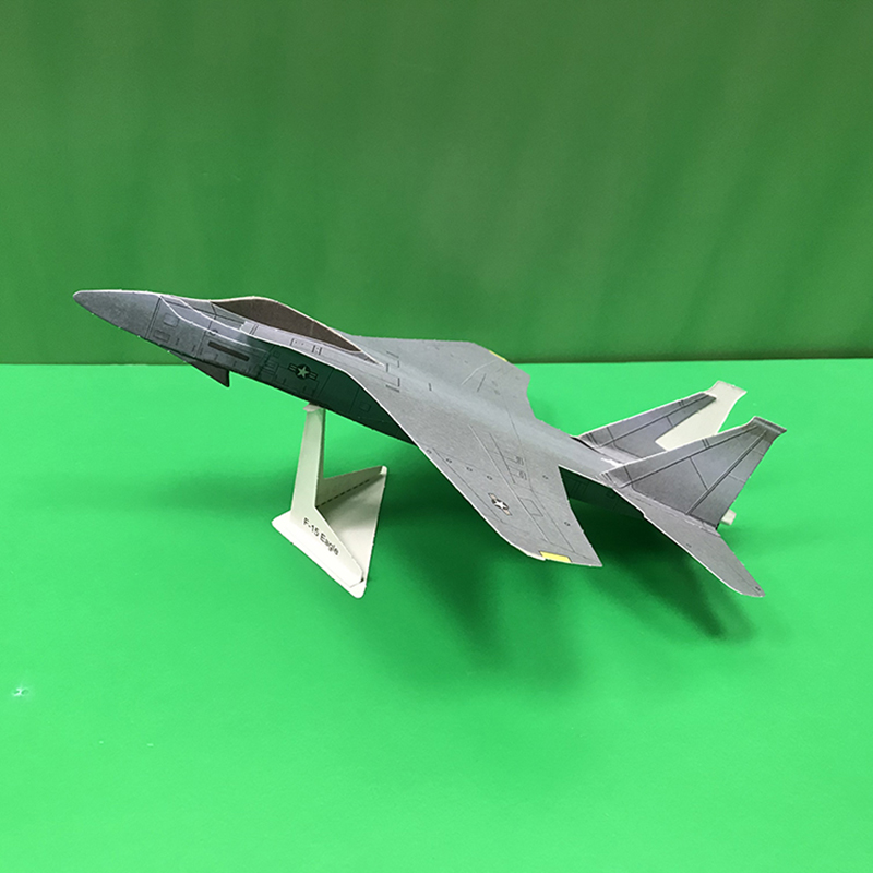 How to Fold an Origami F-15 Paper Airplane : 14 Steps (with ... | 800x800
