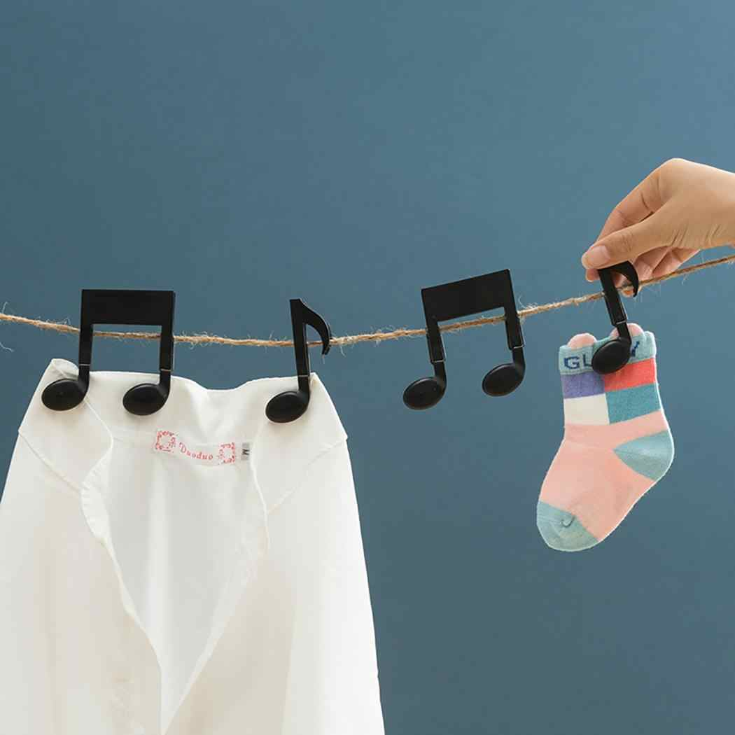 Creative Musical Note Clip Multifunction Hang Clothes Clip Food Sealing Home, Office Fixed, Sealed Clips Folder