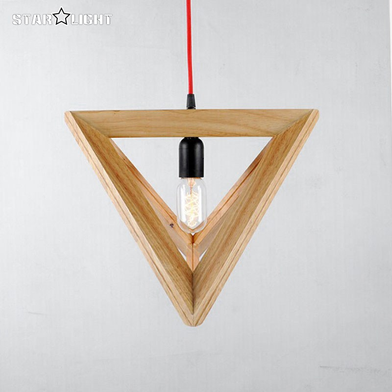 2016 nouveautés moderne triangle pyramide pendentif lampe ...