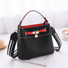 ONEFULL new fashion composite bag casual shoulder brand women pu leather handbag leisure shopping bags