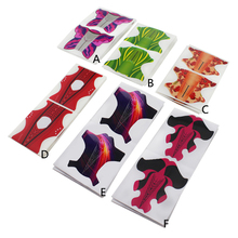 Nail Form Extension Tips Guide 100pcs/lot Red fish Butterfly supplies tools Art Tip Professional Forms UV Gel Building