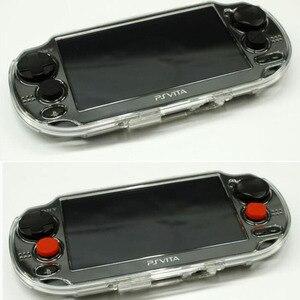 Image 4 - 6 w 1 silikonowa nakładka na gałkę Joystick analogowy pokrowiec ochronny do Sony PlayStation Psvita PS Vita PSV 1000/2000 Slim