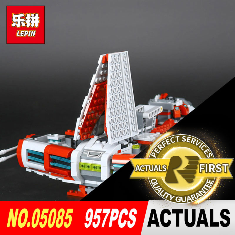 LEPIN 05085 957Pcs Star Cool Wars 75025 The Je toys to children Educational Building Blocks Bricks DIY Toys Model as Gift lepin 21012 builder the beatles yellow submarine with 21306 building blocks bricks policeman toys children educational gift toys