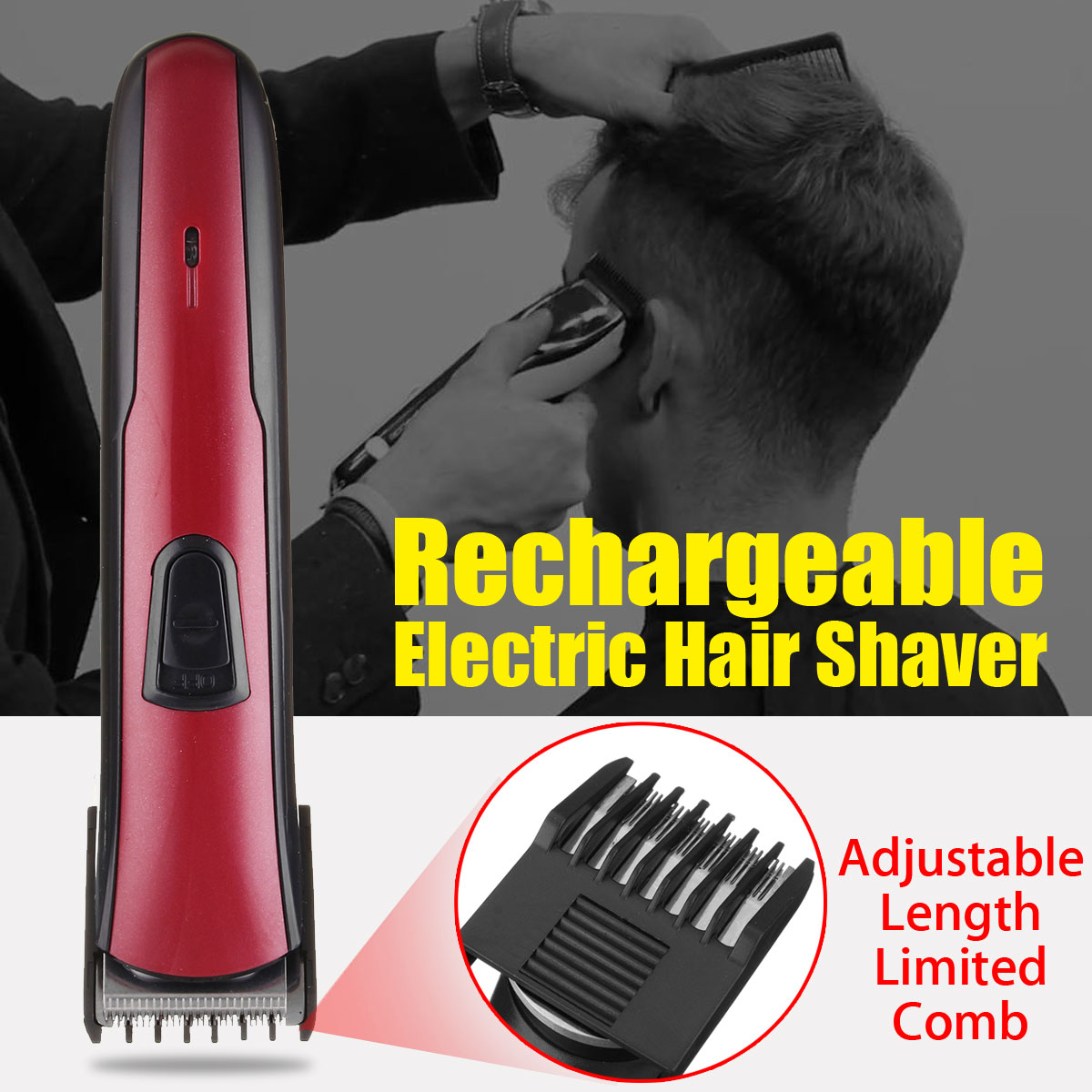 SURKER Rechargeable Electric Shaver Razor Beard Hair Clipper Cutting Trimmer Grooming цена