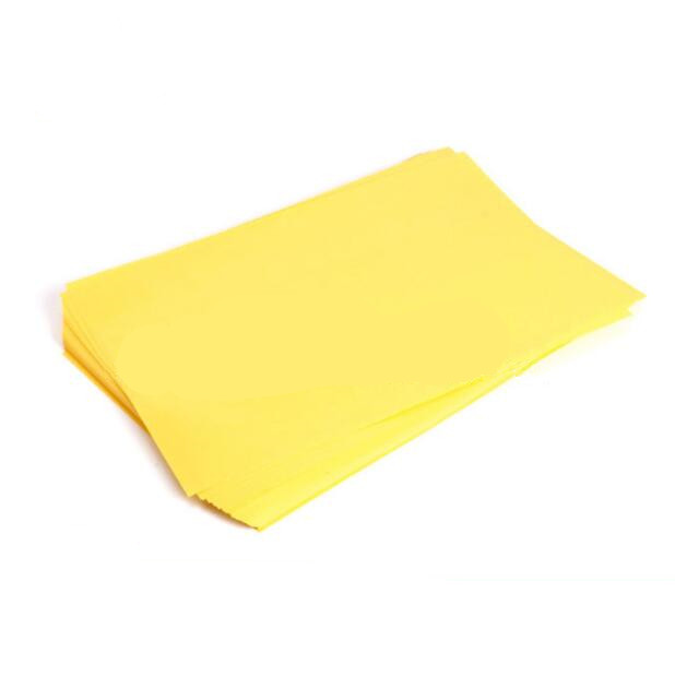 10pcs Thermal Transfer Paper / PCB Special A4Z Paper / Circuit Board Production Yellow
